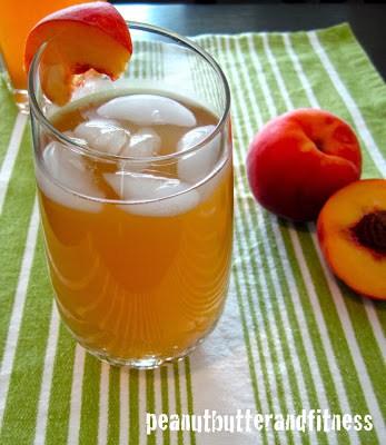 Peach Mango Iced Green Tea