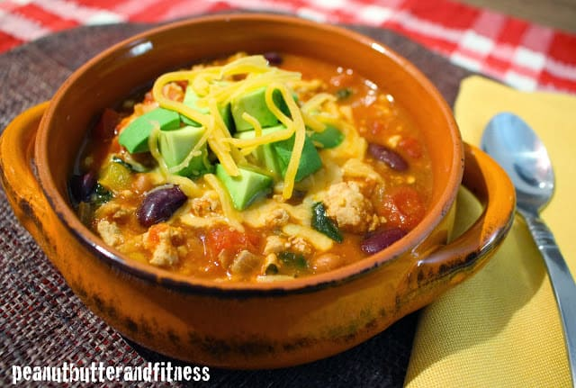Turkey Chili with Kale