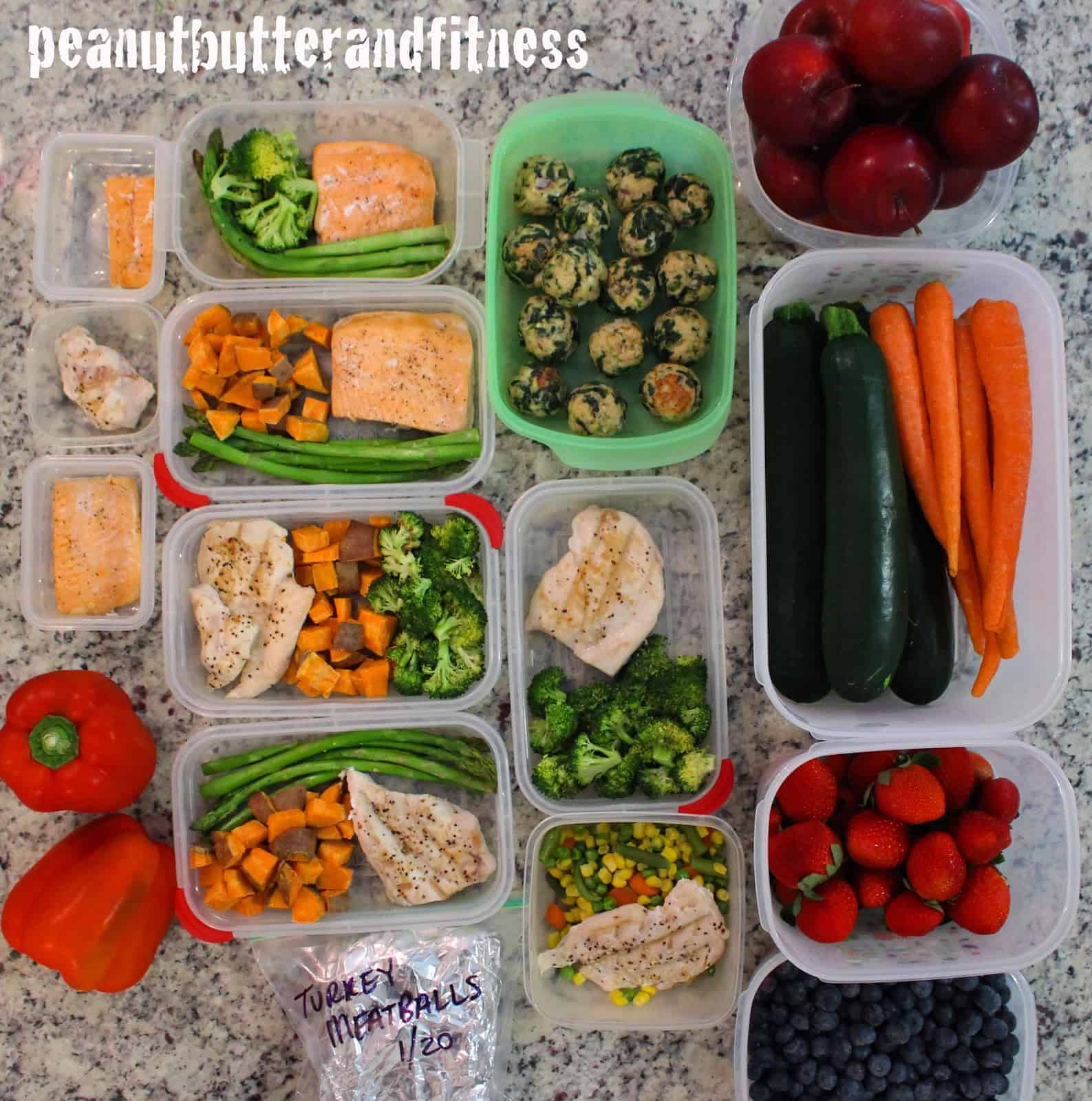 Meal Prep 101 And 1 Week Meal Prep Peanut Butter And Fitness
