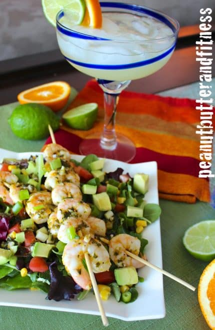 Spicy Margarita Shrimp Salad