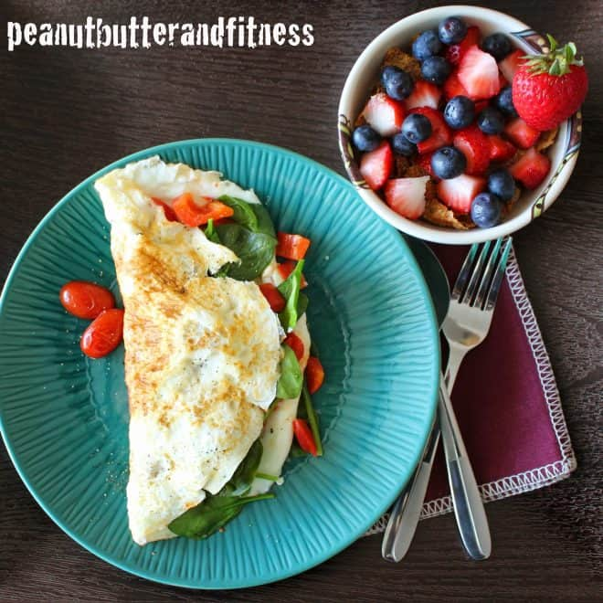 Egg White and Turkey Sausage Omelet (Quitting Cereal – Volume 2)