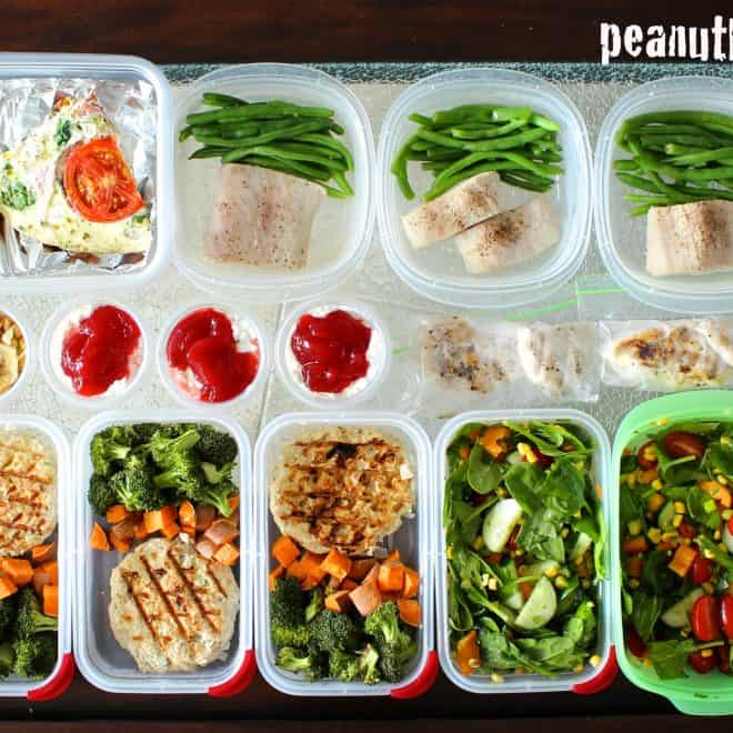 Meal Prep Mondays – One Week Prep