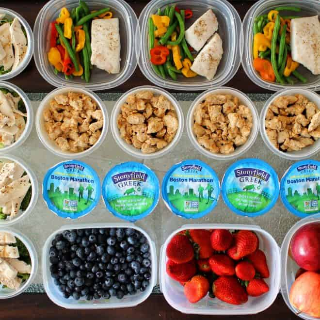 Meal Prep Mondays – Experimenting with 5 Meals a Day