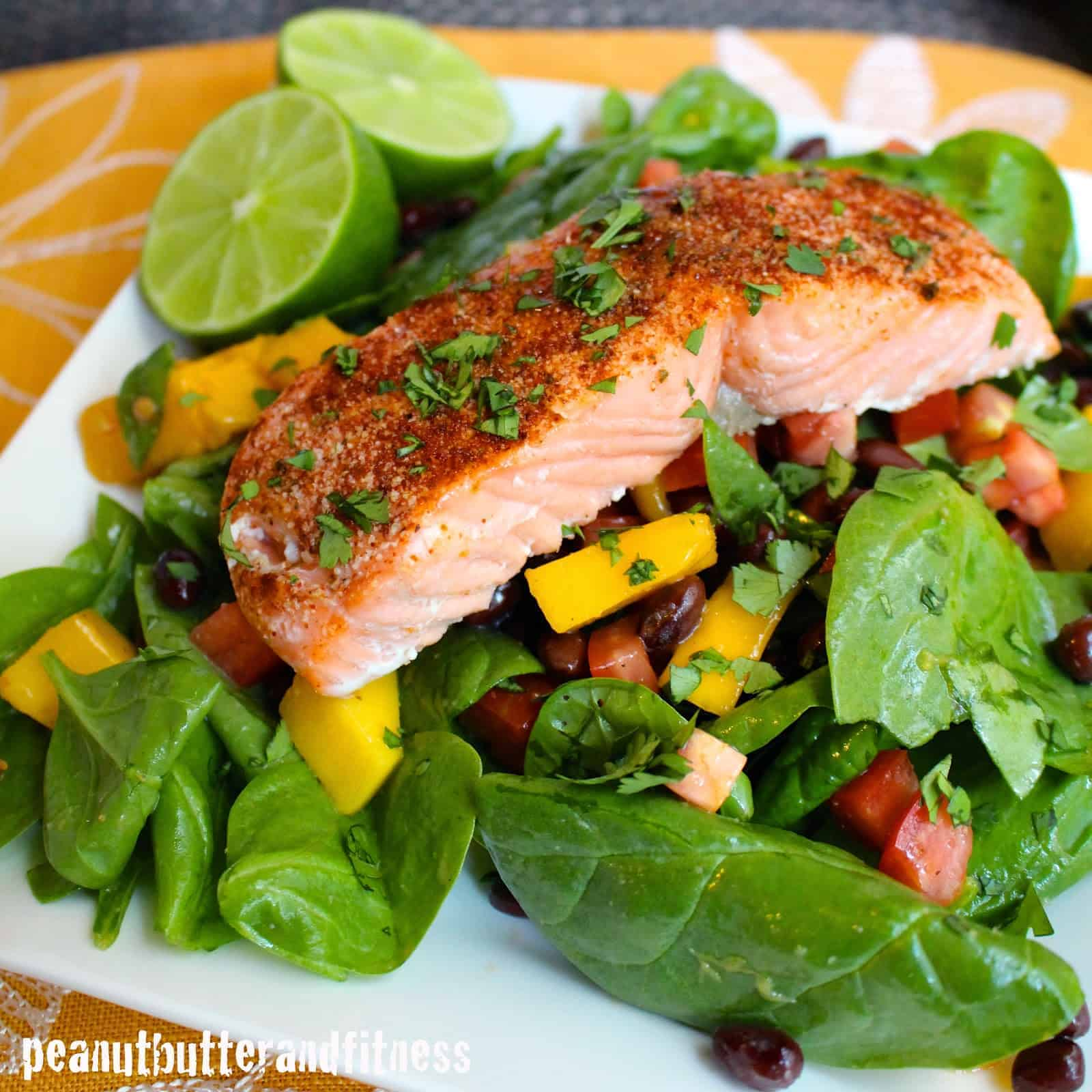 Chili Lime Salmon Salad (and Meal Prep Ideas!) - Peanut ...