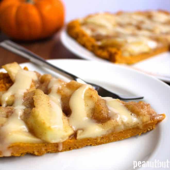 Apple Pumpkin Protein Pizza (Gluten Free and Paleo)