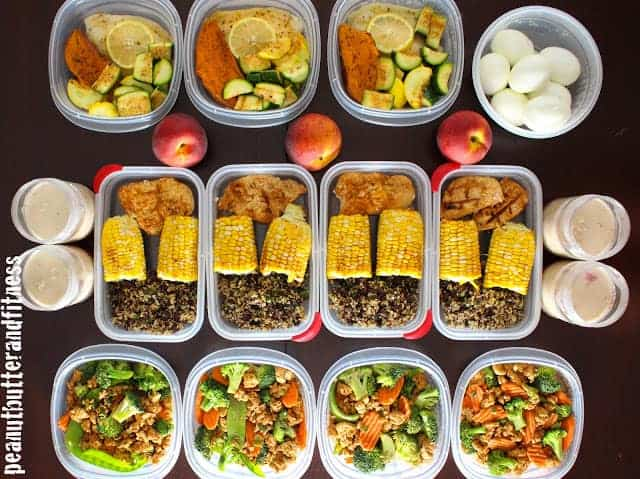 Meal Prep Week Of May 18th Peanut Butter And Fitness