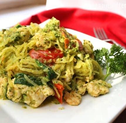 Pesto Turkey Squash-ta