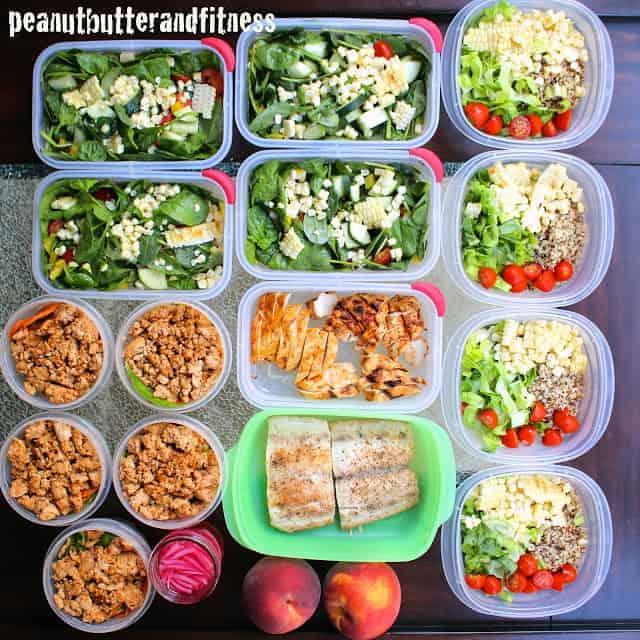 Meal Prep Ideas – Week of September 7th