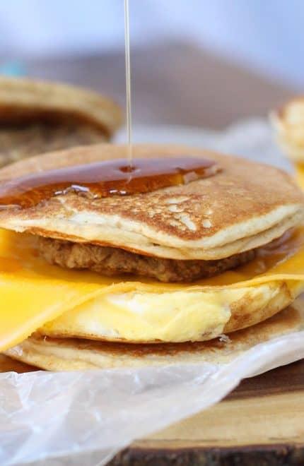 Pancake Breakfast Sandwich Griddlers
