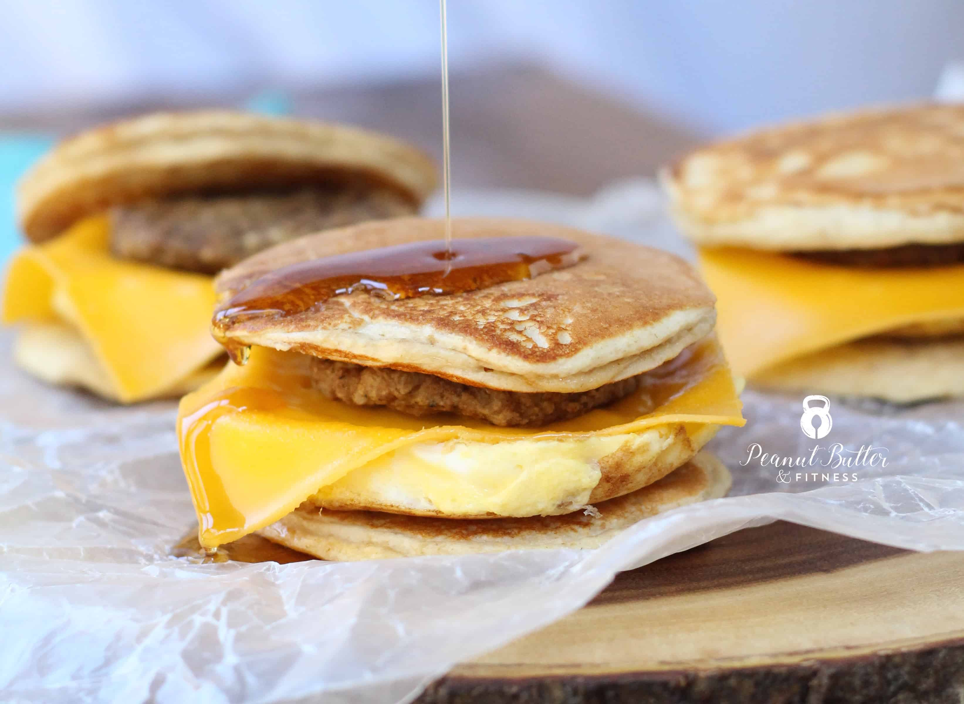 Pancake Breakfast Sandwich Griddlers Peanut Butter And Fitness
