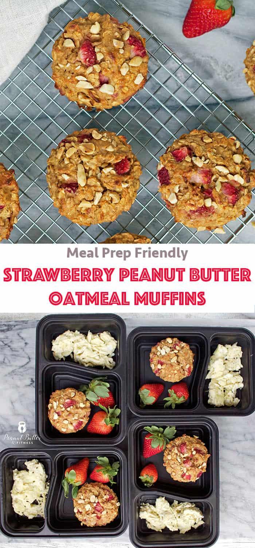 strawberry peanut butter muffins pinterest