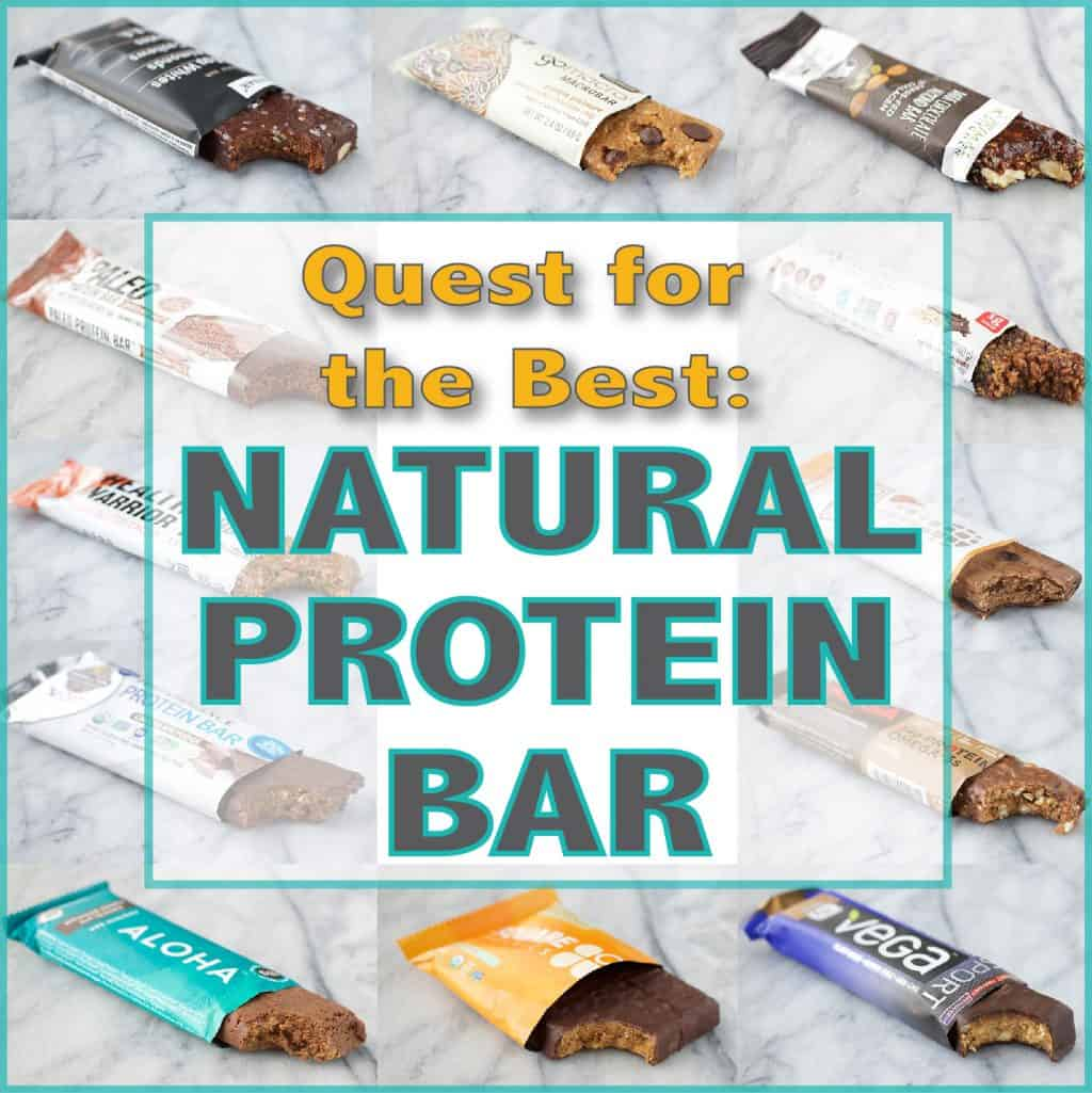 Quest for the Best - Natural Protein Bar - Peanut Butter and Fitness