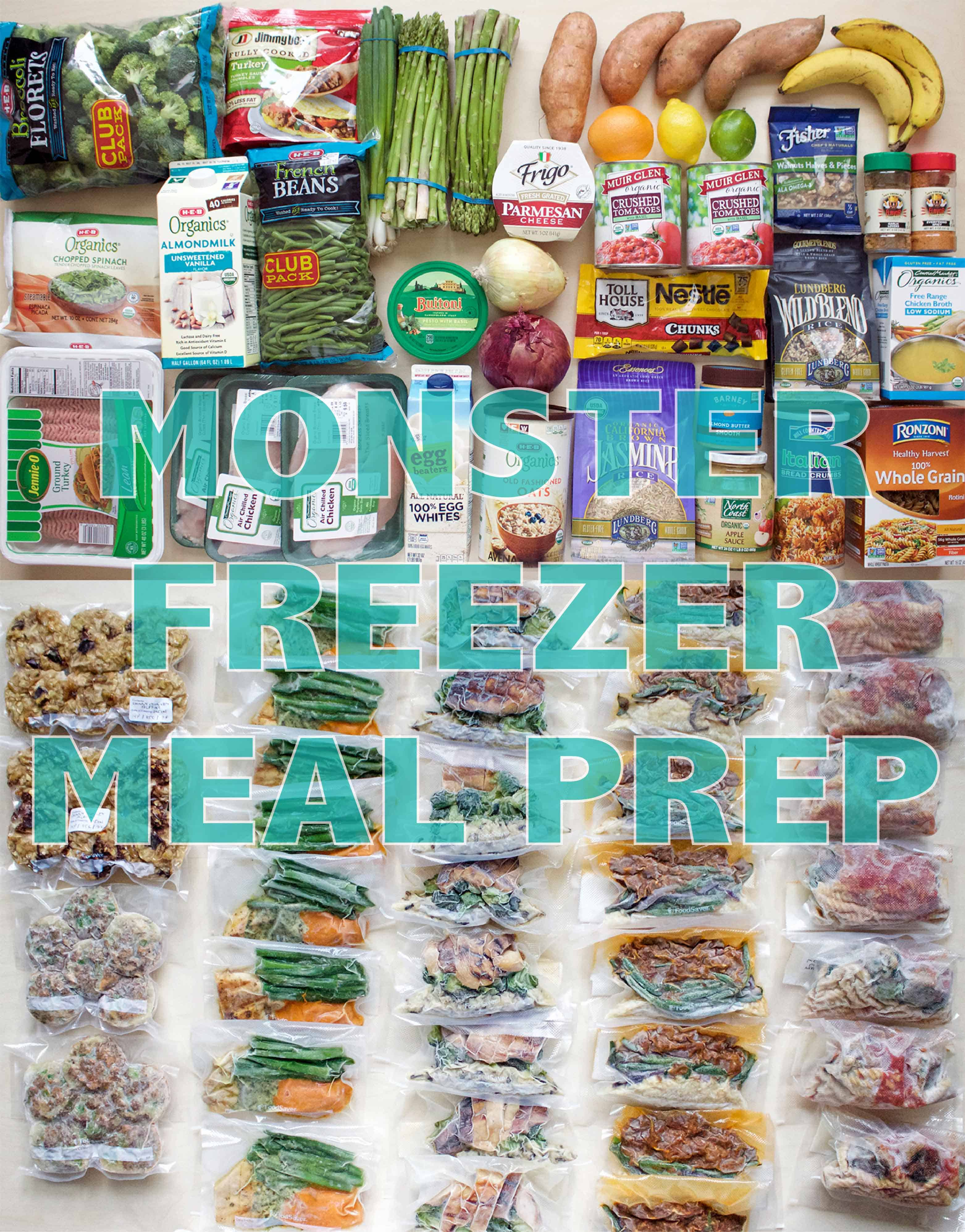 monster freezer prep ig