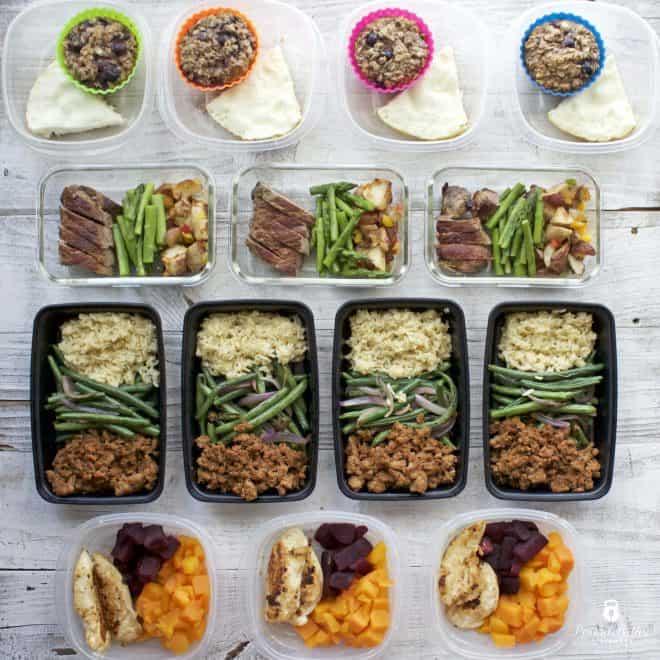 Meal Prep Monday – Week of September 11, 2017