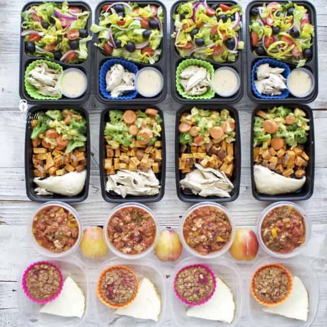 Meal Prep – Week of October 30, 2017