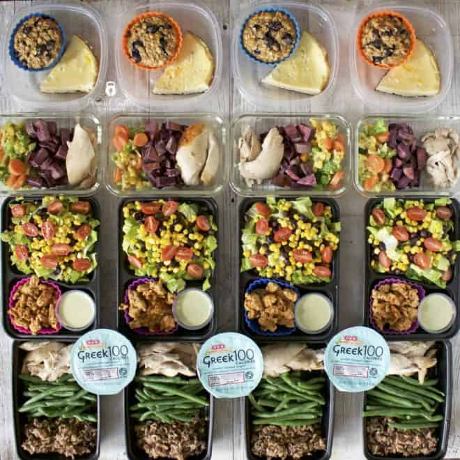 Meal Prep – Week of November 27th, 2017