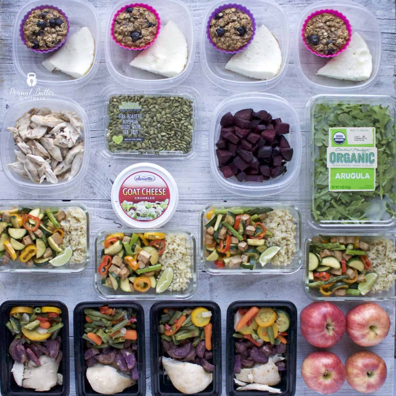 Meal Prep – Week of January 15th, 2018