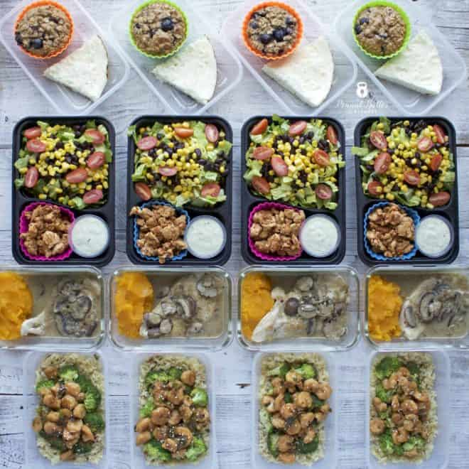Meal Prep – Week of January 8th, 2018