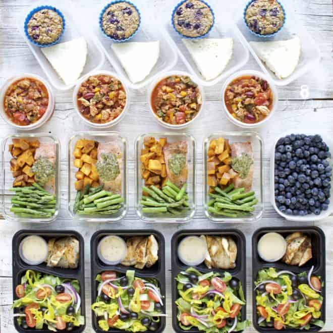 Meal Prep – Week of January 22nd, 2018