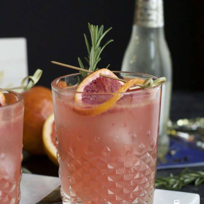 Blood Orange Margarita Mule