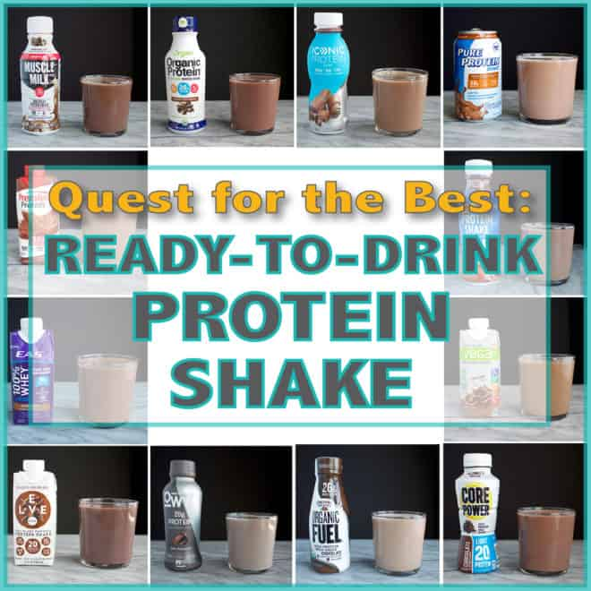 Quest for the Best – Ready-to-Drink Protein Shake