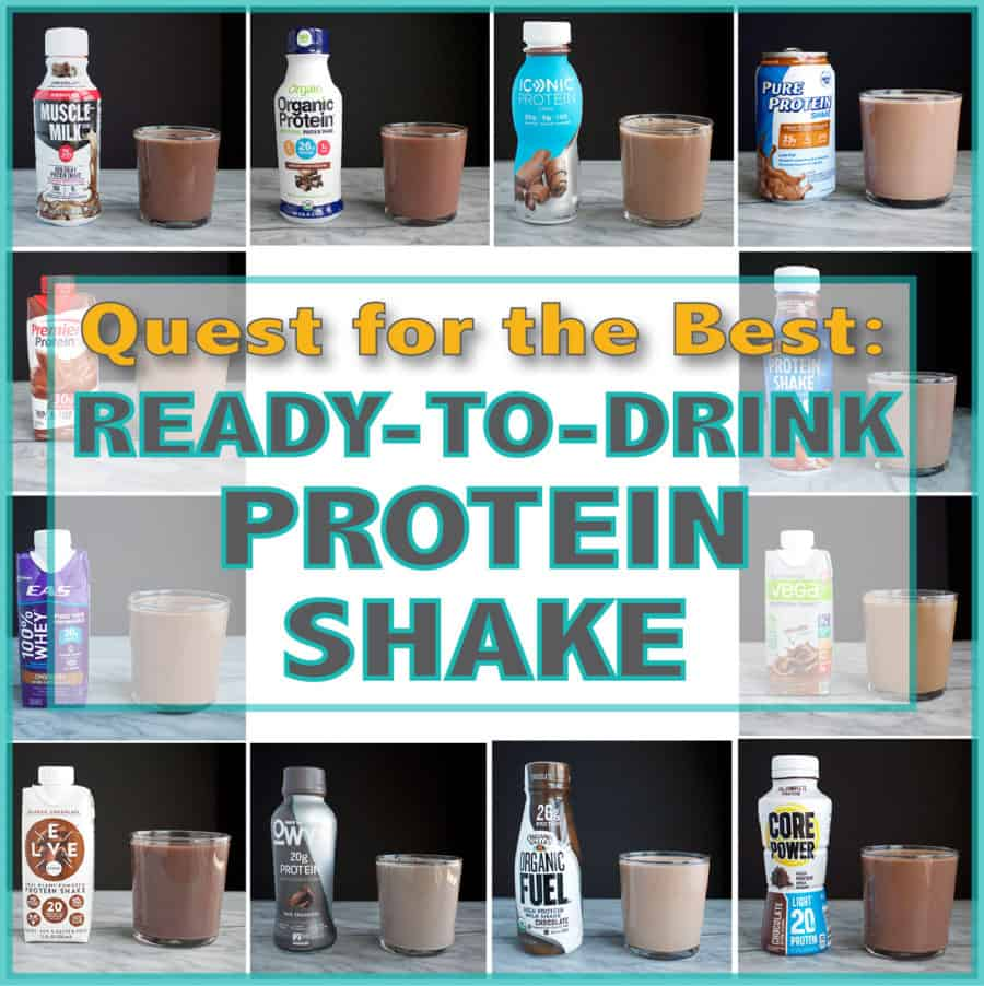 Quest For The Best Ready To Drink Protein Shake Peanut Butter