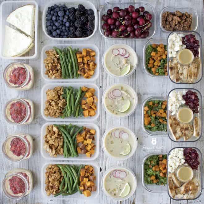 Meal Prep – Week of February 19th, 2018