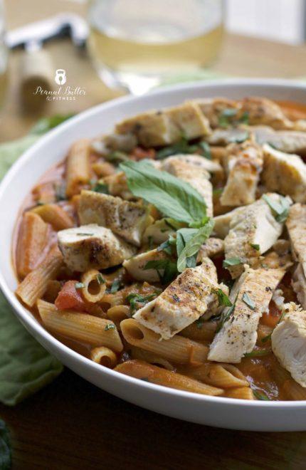 Gluten-Free and Dairy-Free Penne a la Vodka