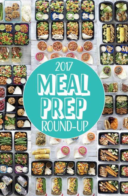 Healthy New Year: 2017 Meal Prep Round-Up
