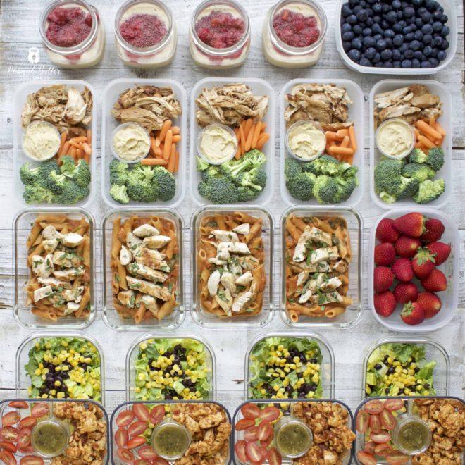 Meal Prep – Week of February 26th, 2018