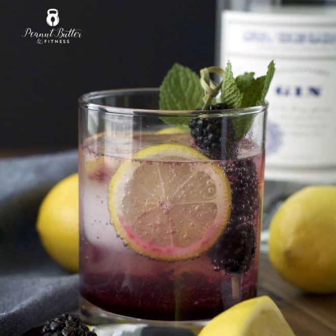 Blackberry Gin Smash