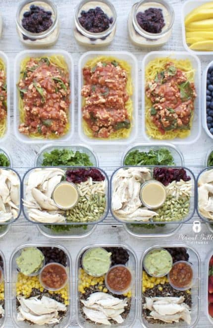 Meal Prep – Week of March 5th, 2018