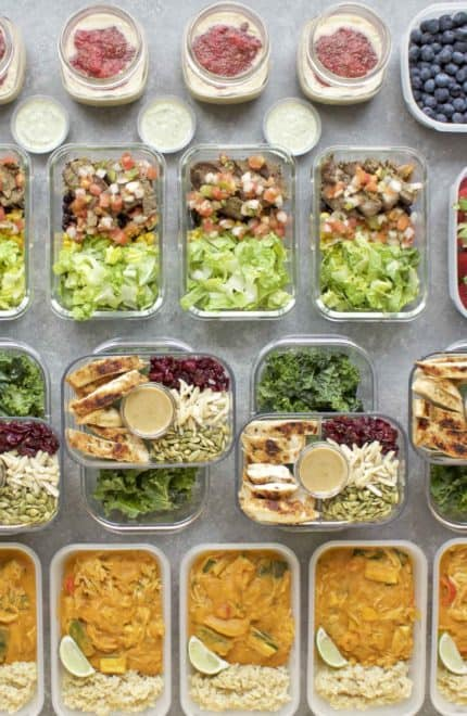 Meal Prep – Week of March 26th, 2018