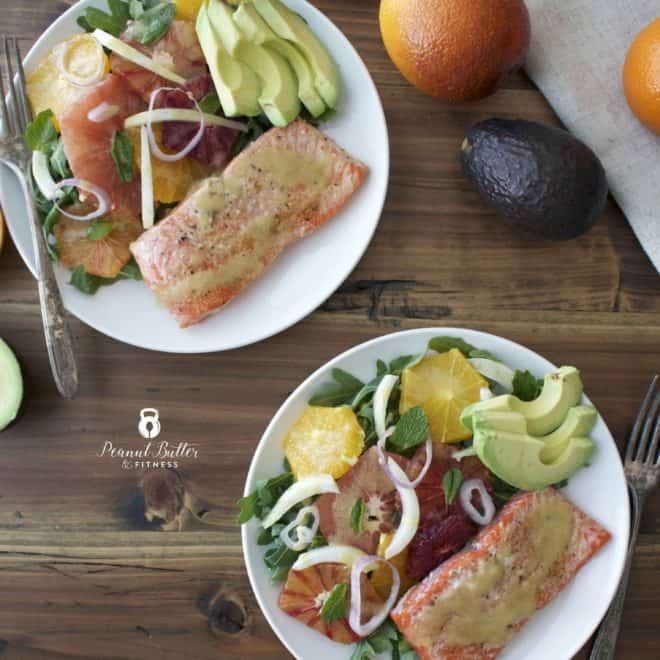 Citrus Salmon Salad