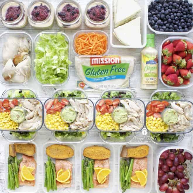 Meal Prep – Week of April 16th, 2018