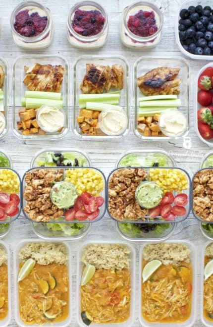 Meal Prep – Week of April 23rd, 2018
