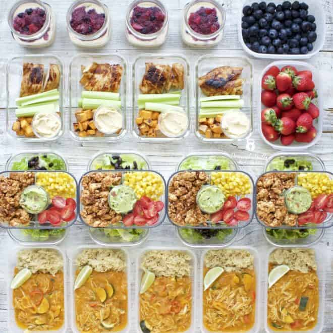 Meal Prep – Week of April 23rd, 2018