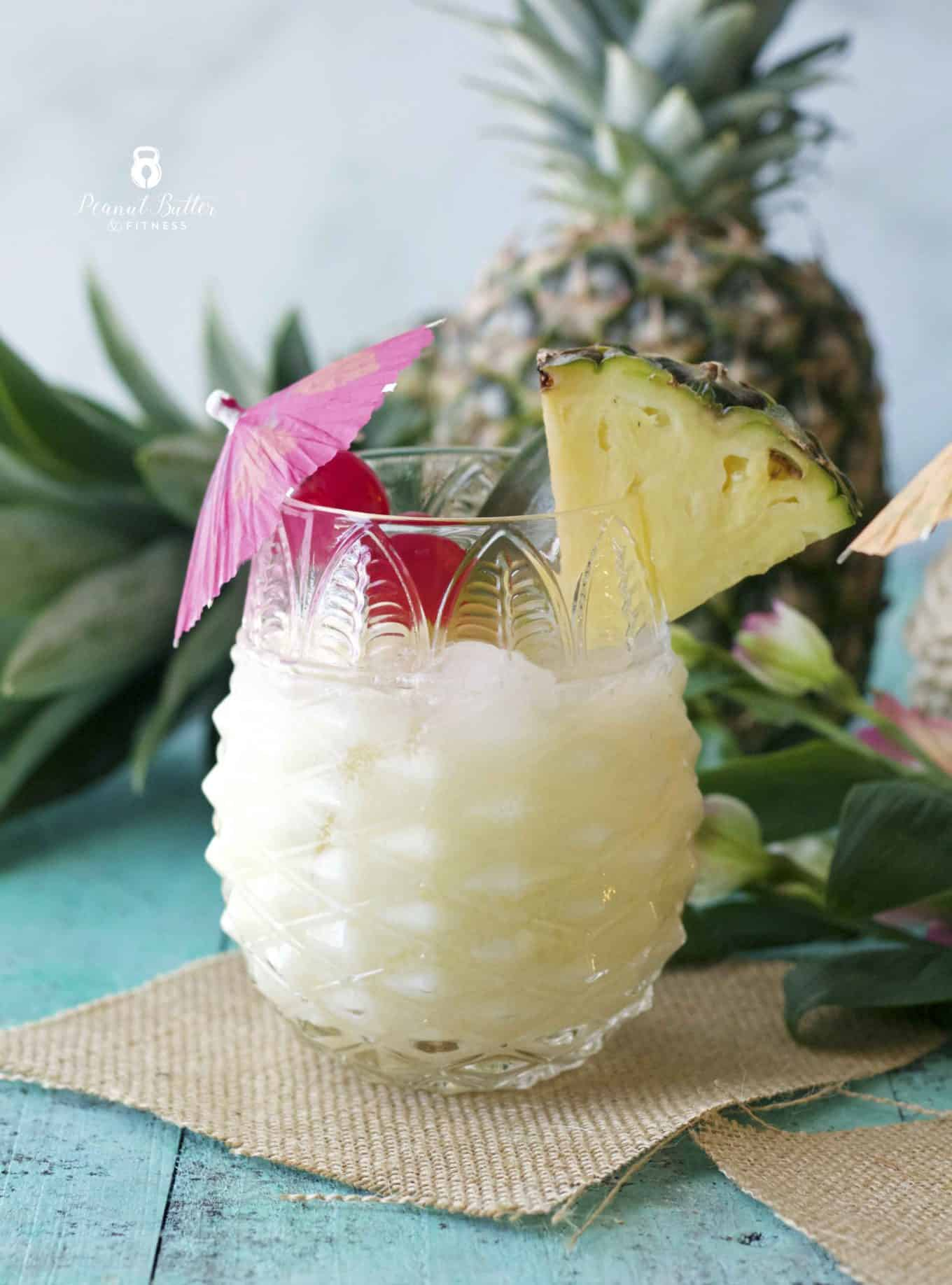 Pineapple Coconut Rum Cooler