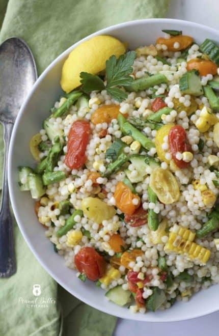 Spring Veggie Couscous Salad