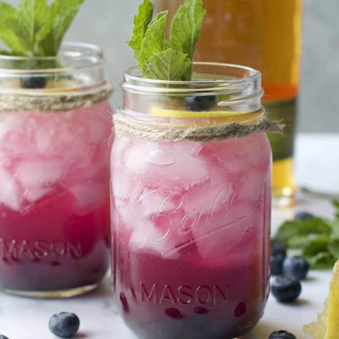 Blueberry Rye Lemonade