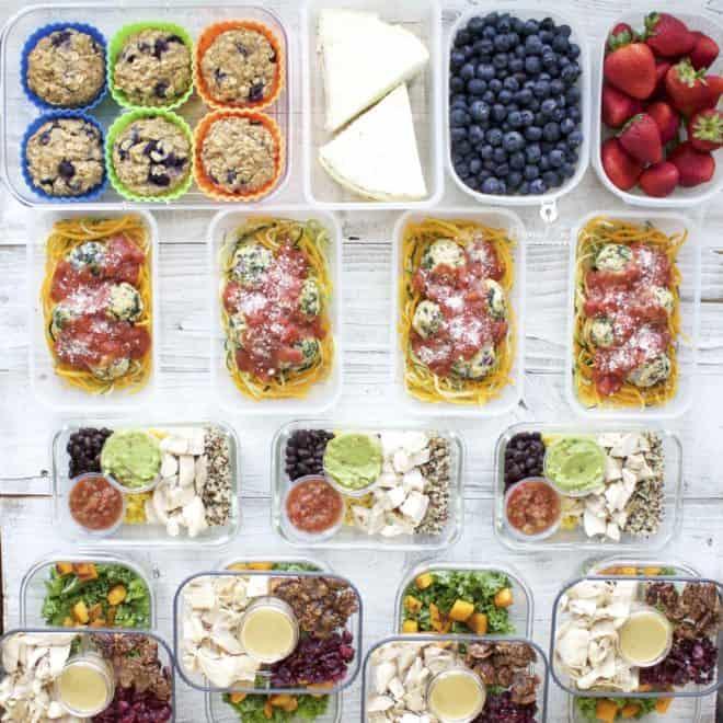 Meal Prep – Week of June 11th, 2018