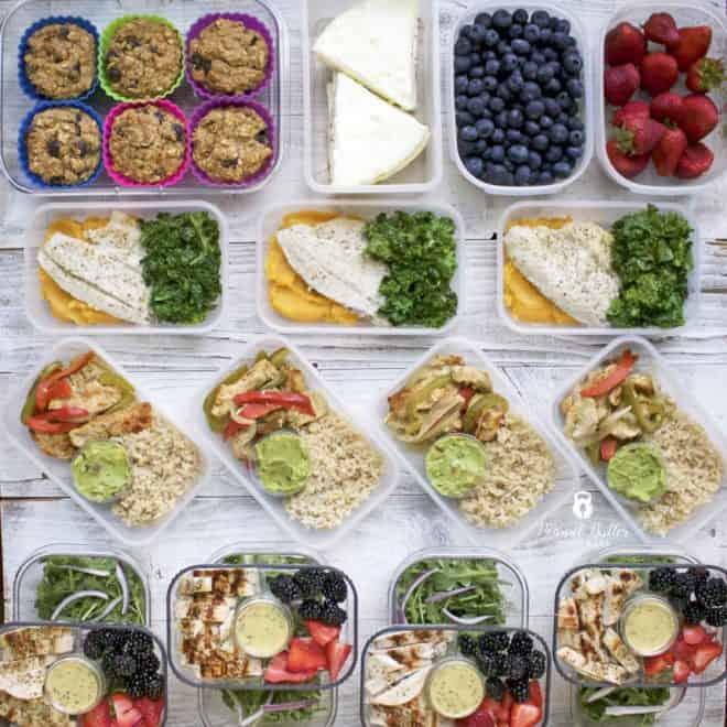 Meal Prep – Week of June 18th, 2018