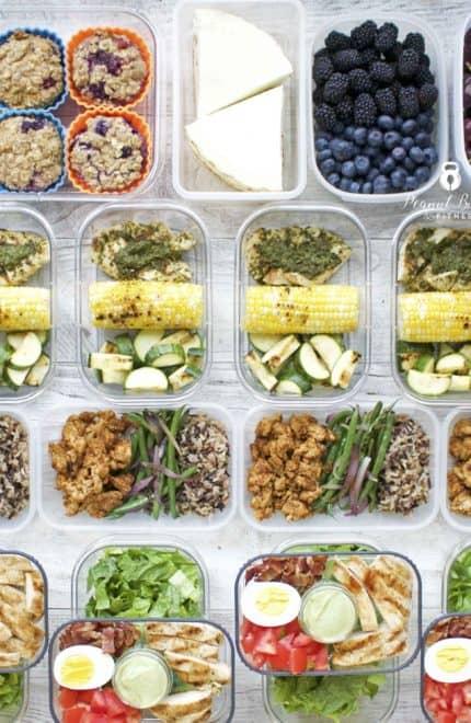 Meal Prep – Week of August 6th, 2018