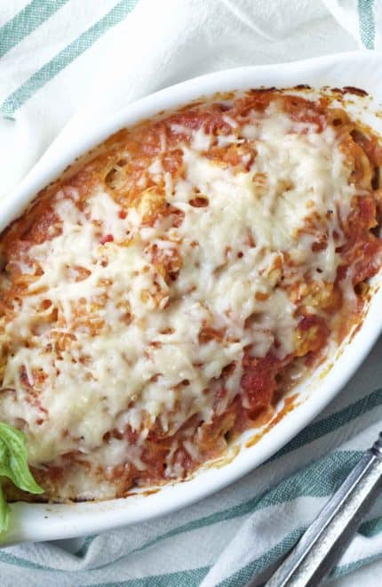 Italian Spaghetti Squash Bake