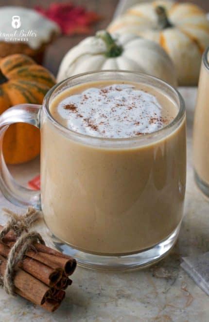 Protein Pumpkin Chai Latte