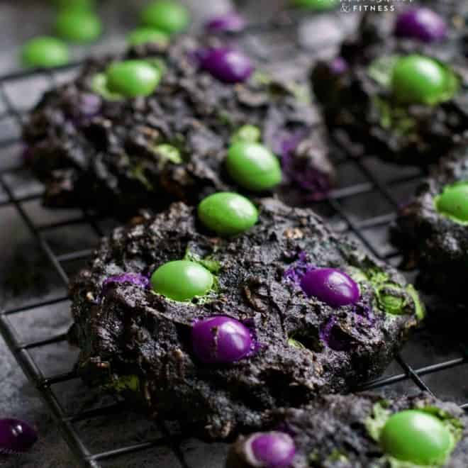 Black Pumpkin Cookies