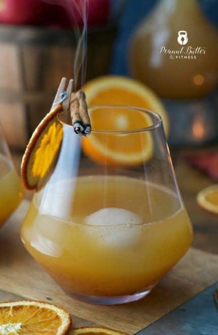 Smoky Harvest Cocktail