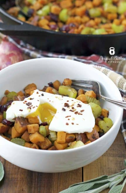Sweet Potato Hash with Sage Brown Butter