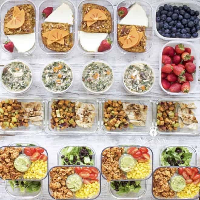 Meal Prep – Week of November 12th, 2018
