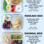 Bento Breakfast Meal Prep
